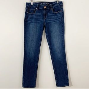 AEO . Skinny Jeans . 8 Short